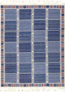 vintage geometric scandinavian kilim rug by barbro nilsson 49572 Nazmiyal