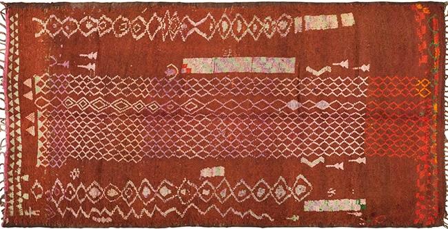 Vintage Moroccan Boujad Rug by Nazmiyal