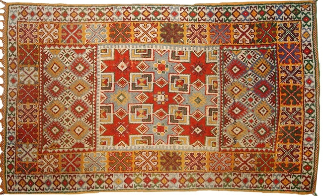 Vintage Moroccan Rabat Rug by Nazmiyal