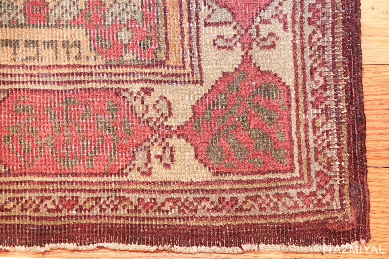 antique marbediah israeli rug 49590 corner Nazmiyal