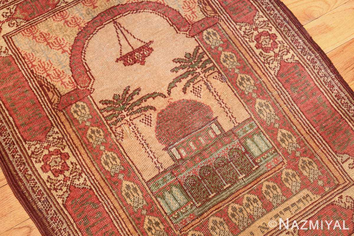 antique marbediah israeli rug 49590 oblique Nazmiyal