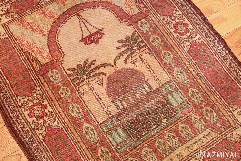 antique marbediah israeli rug 49590 oblique Nazmiyal