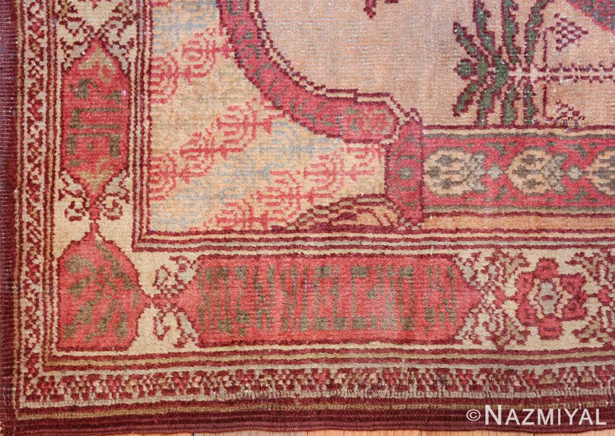 antique marbediah israeli rug 49590 side Nazmiyal
