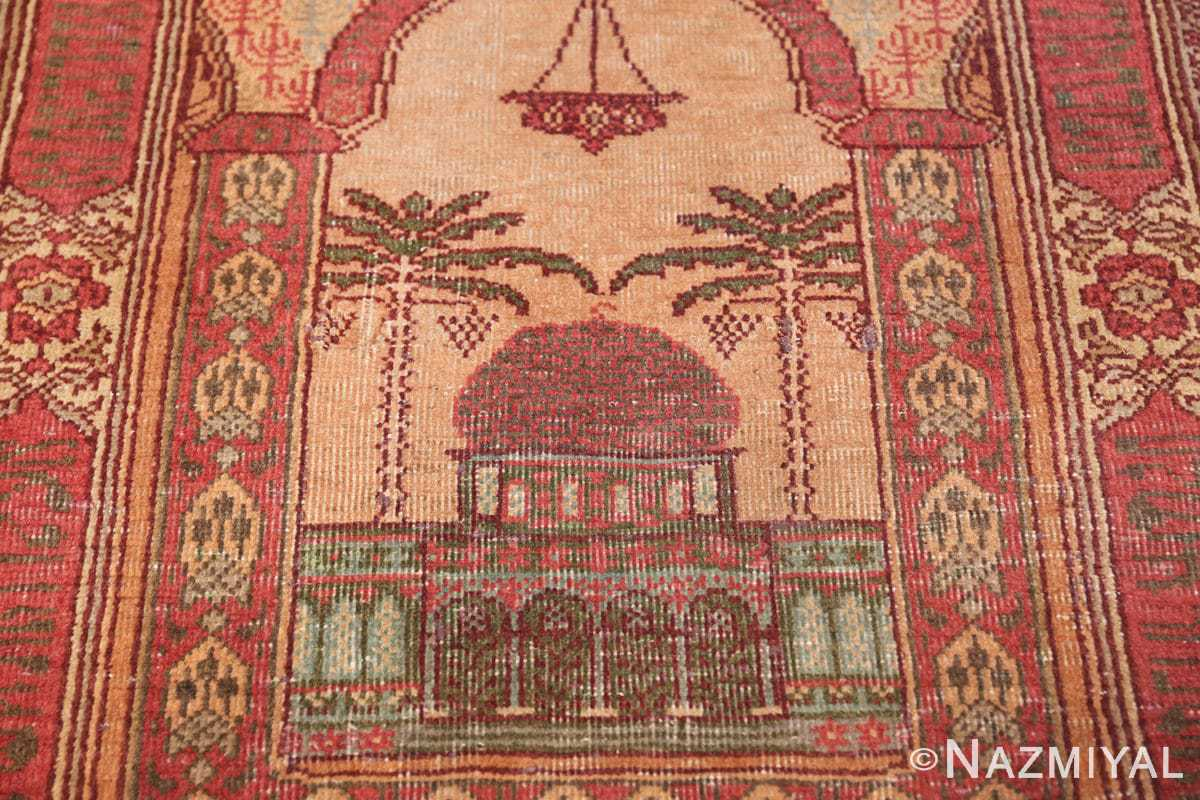 antique marbediah israeli rug 49590 temple Nazmiyal