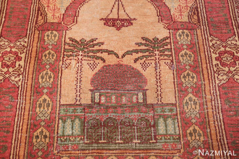 antique marbediah israeli rug 49590 temple Nazmiyal