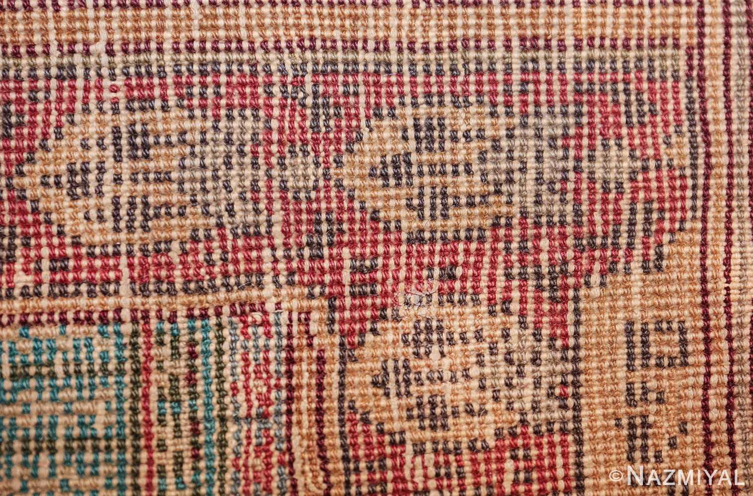 antique marbediah israeli rug 49590 weave Nazmiyal