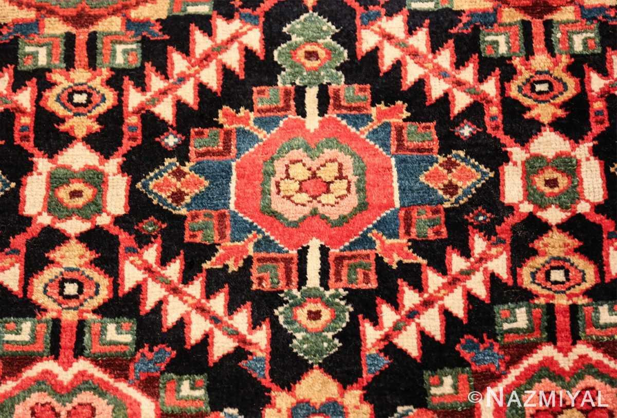 antique navy background northwest persian rug 49586 blue Nazmiyal