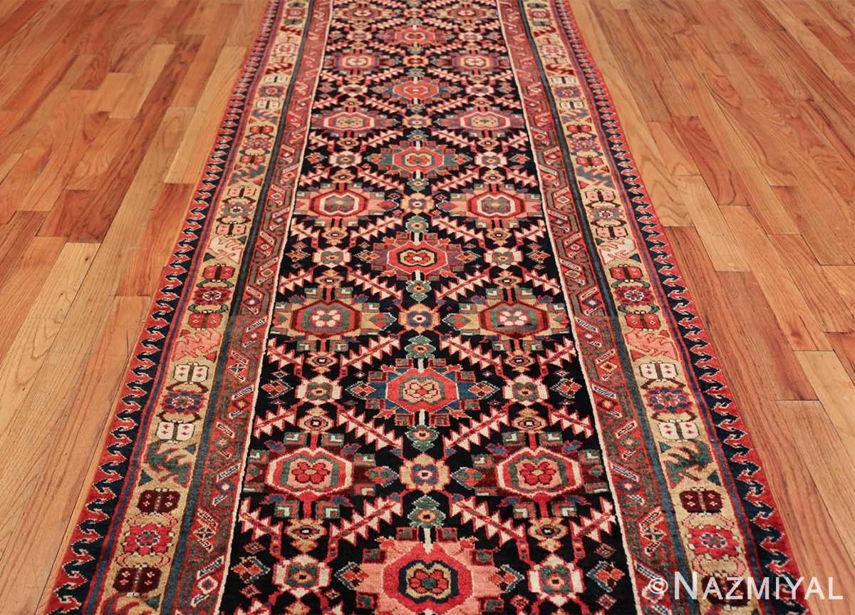 antique navy background northwest persian rug 49586 field Nazmiyal