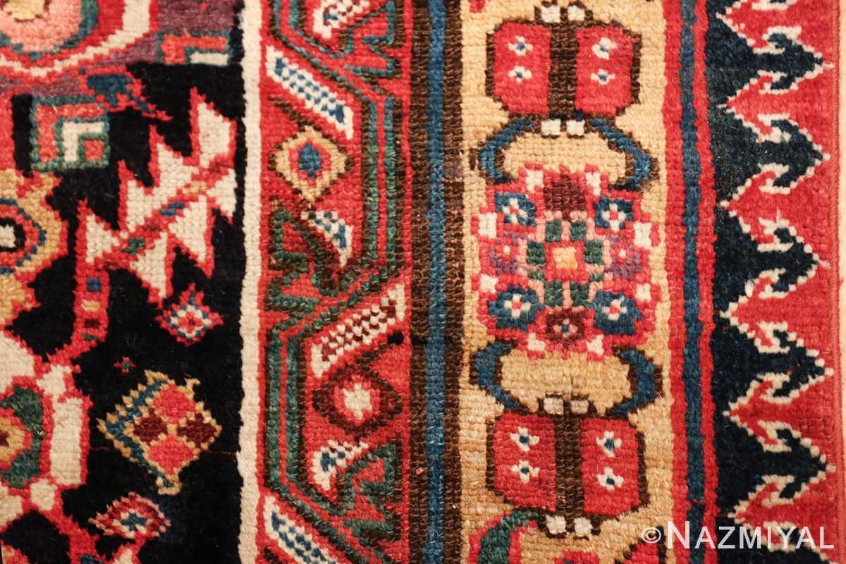 antique navy background northwest persian rug 49586 ladybug Nazmiyal