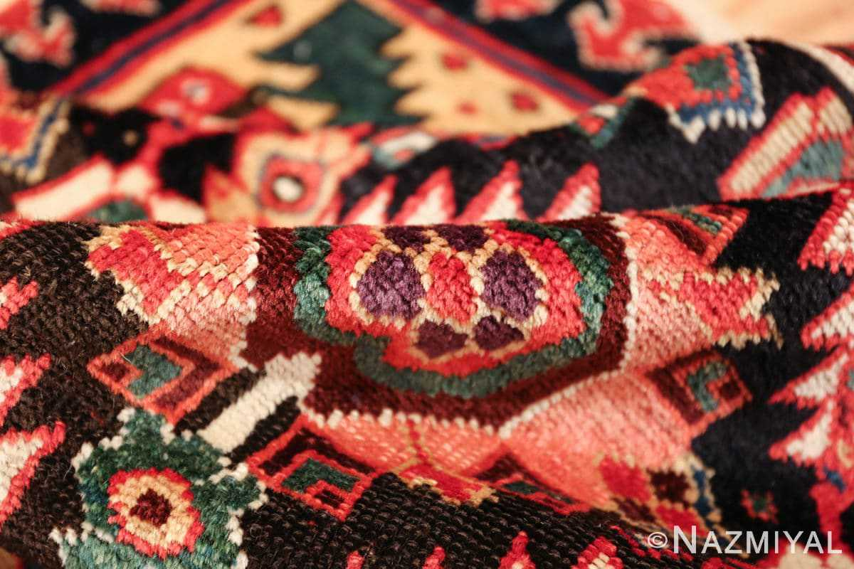 antique navy background northwest persian rug 49586 pile Nazmiyal