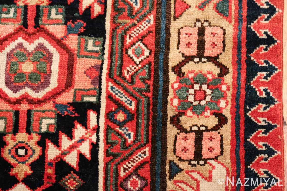 antique navy background northwest persian rug 49586 pink Nazmiyal