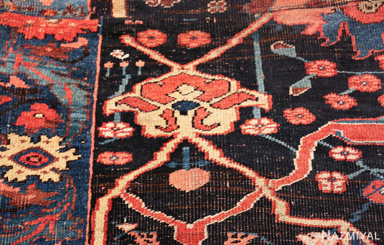 antique persian bidjar sampler rug 49510 border Nazmiyal