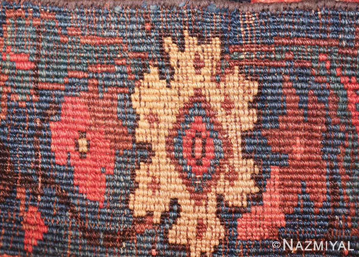 antique persian bidjar sampler rug 49510 knots Nazmiyal