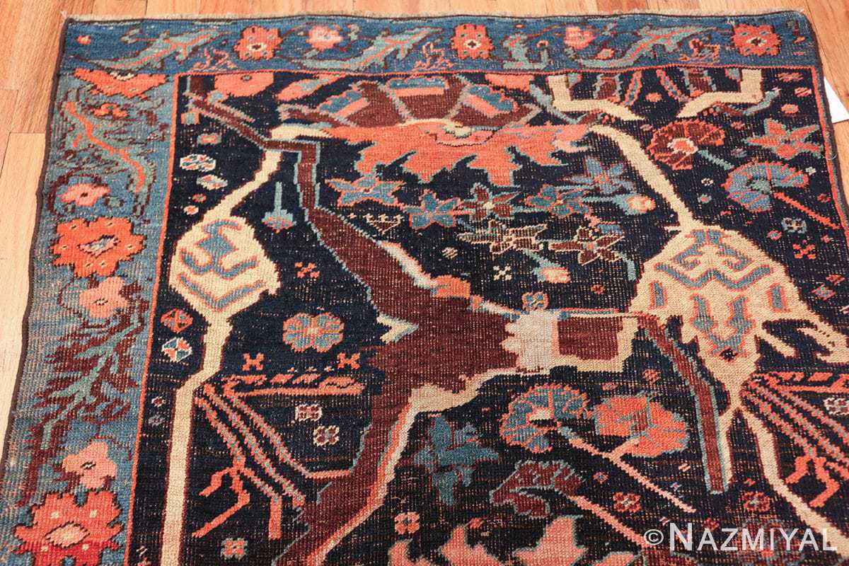 antique persian bidjar sampler rug 49510 top Nazmiyal