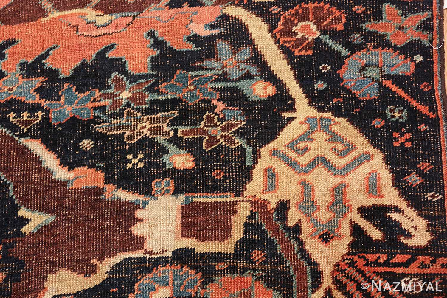 antique persian bidjar sampler rug 49510 whole Nazmiyal