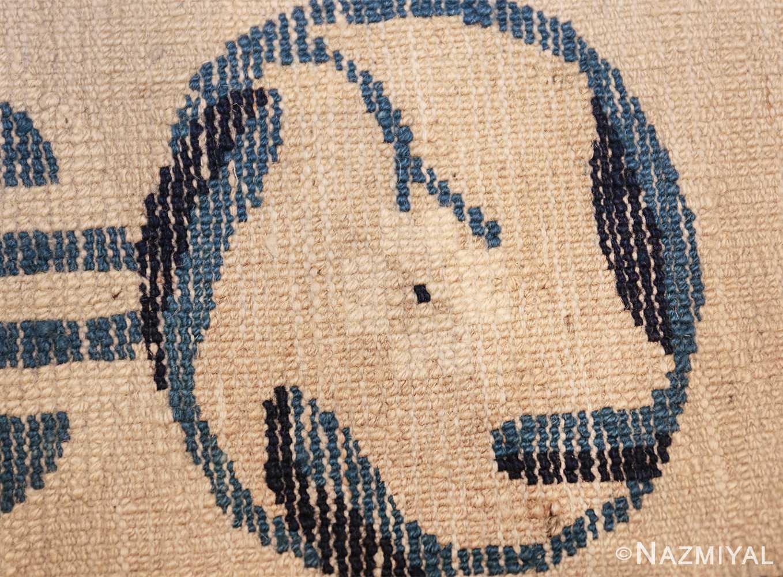 antique room size chinese rug 49582 knots Nazmiyal
