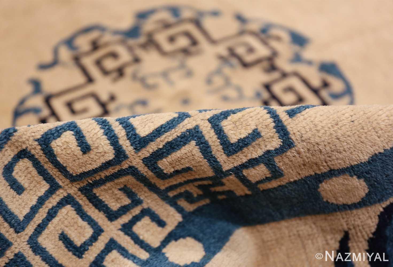 antique room size chinese rug 49582 pile Nazmiyal