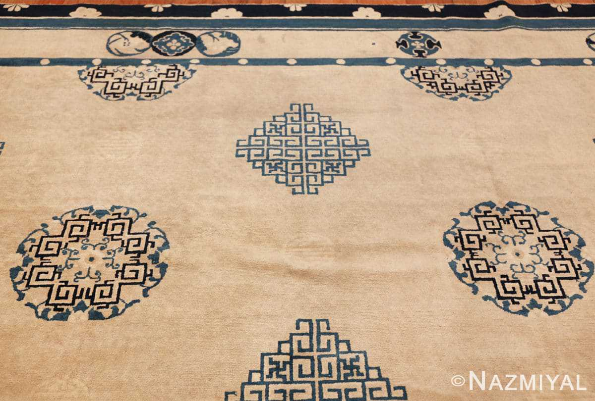 antique room size chinese rug 49582 top Nazmiyal