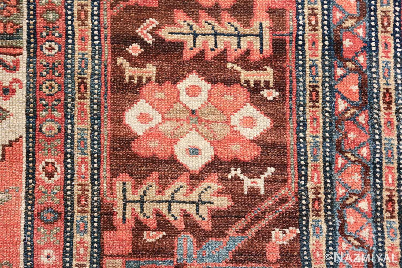 antique tribal ivory background bakshaish persian rug 49508 border Nazmiyal