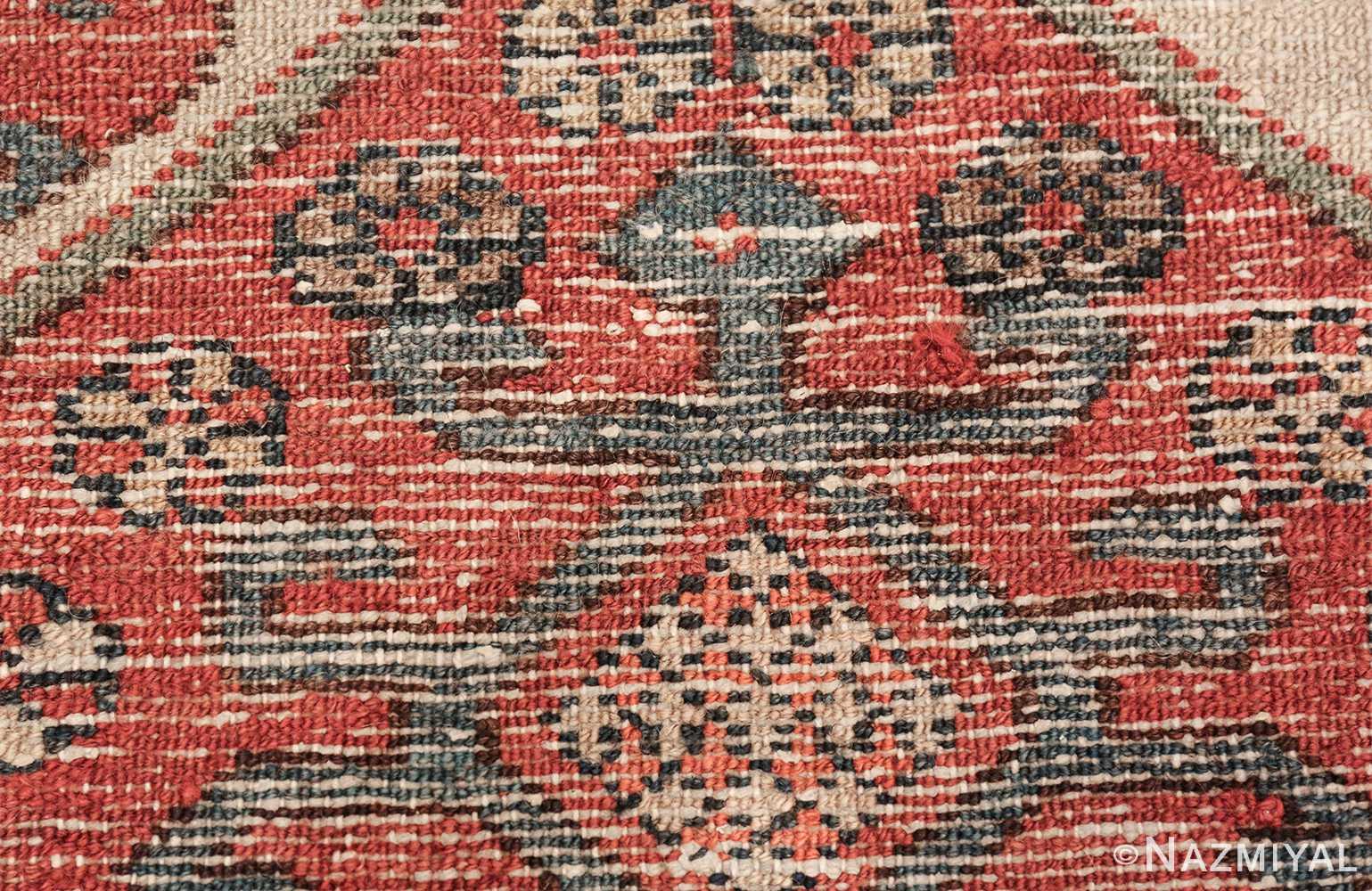 antique tribal ivory background bakshaish persian rug 49508 knots Nazmiyal