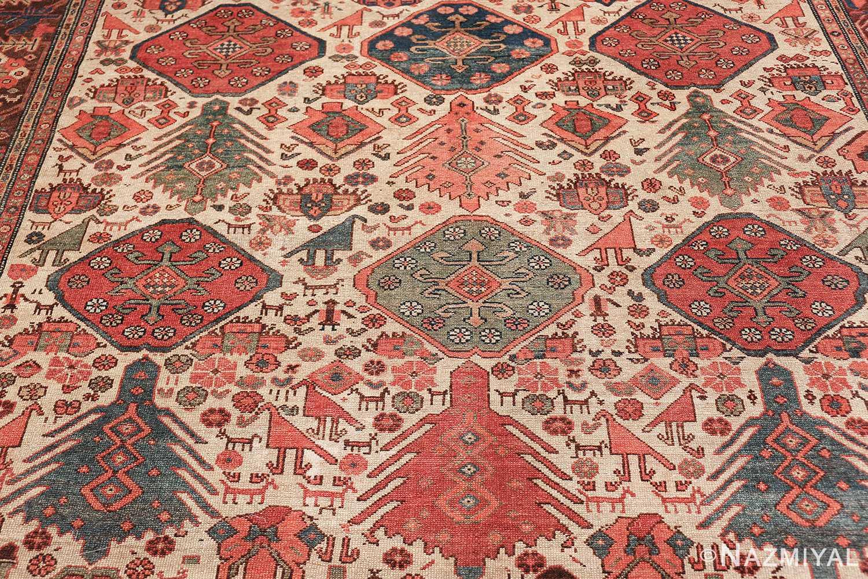antique tribal ivory background bakshaish persian rug 49508 more Nazmiyal
