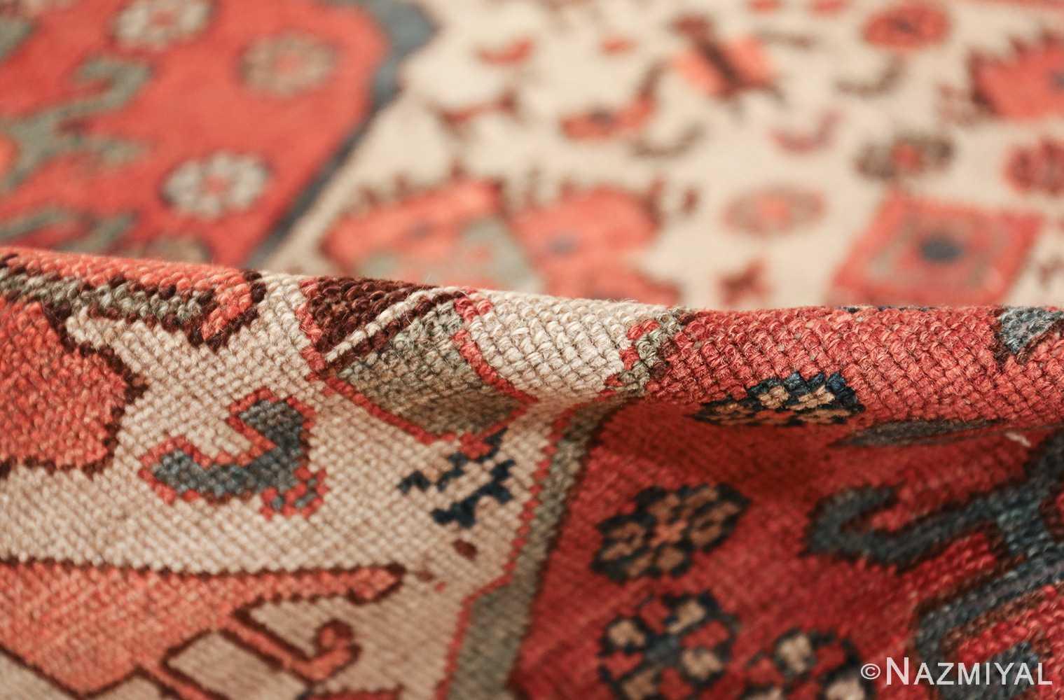 antique tribal ivory background bakshaish persian rug 49508 pile Nazmiyal