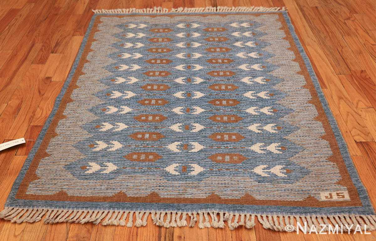 double sided vintage scandinavian rug 49567 whole Nazmiyal