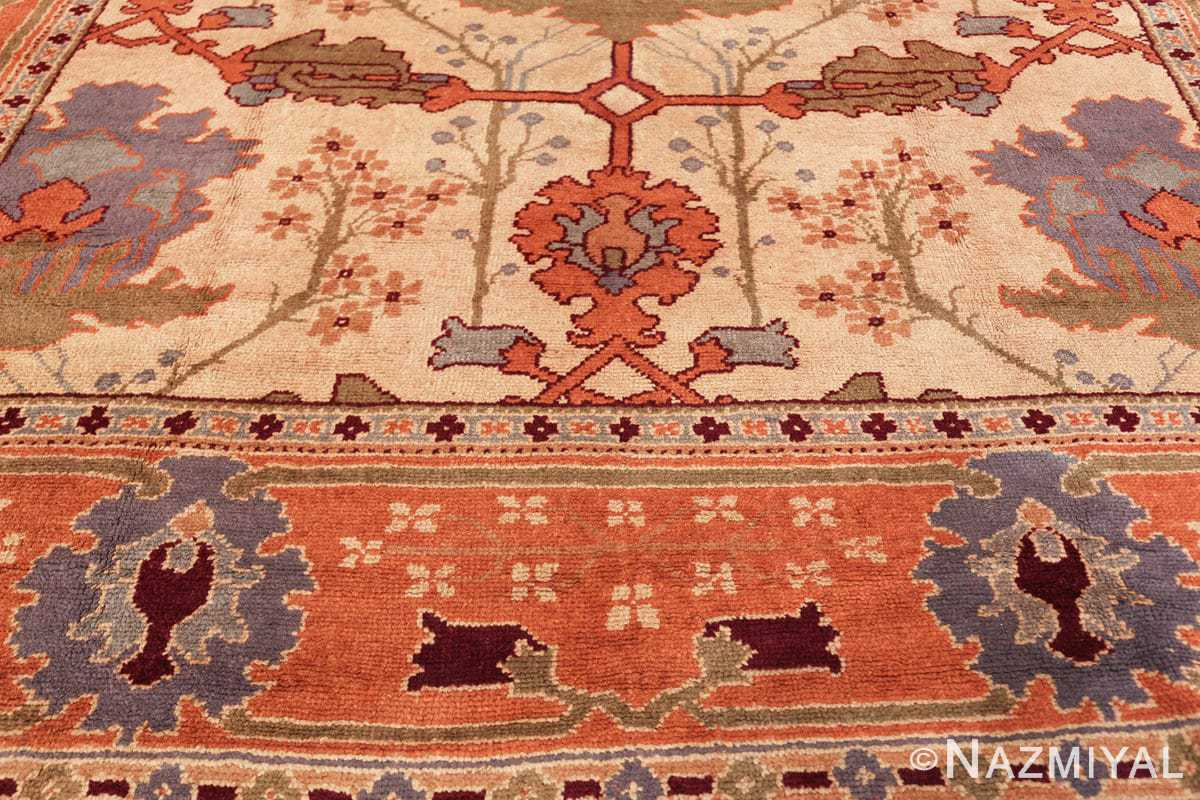 large antique arts and crafts donegal irish rug 49498 top Nazmiyal