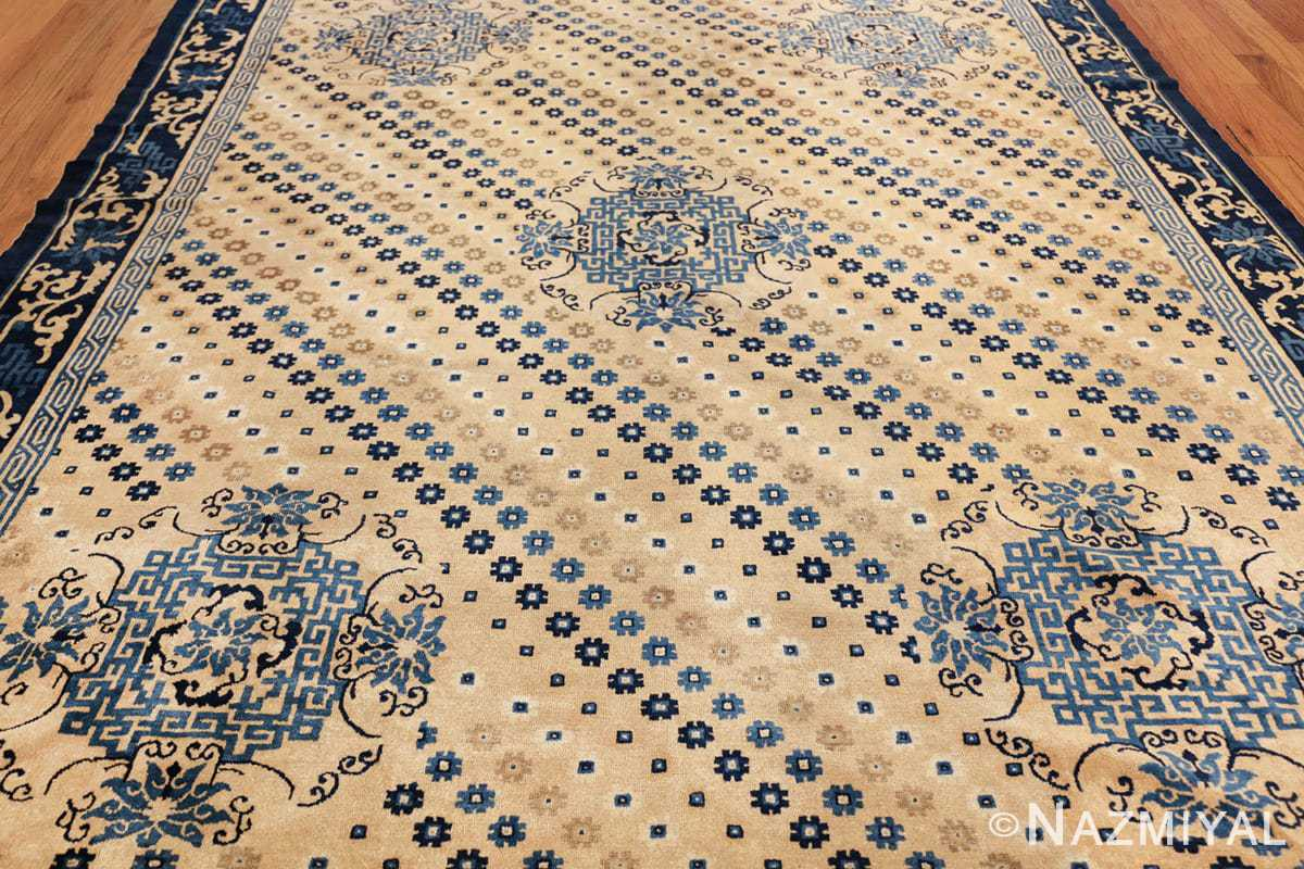 room size antique chinese rug 49542 field Nazmiyal