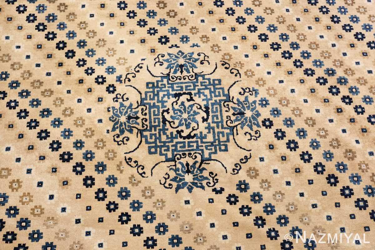 room size antique chinese rug 49542 medallion Nazmiyal