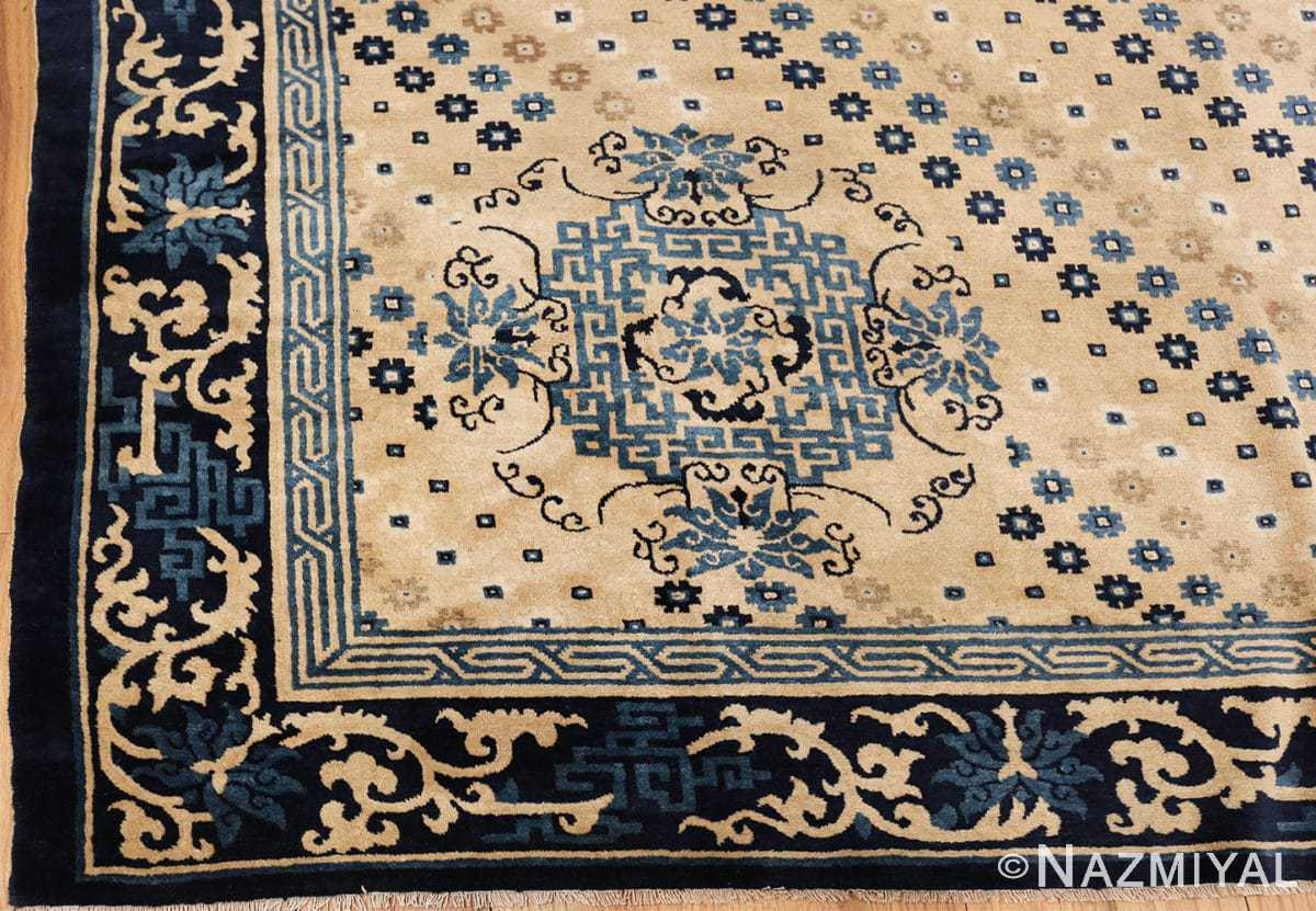 room size antique chinese rug 49542 part Nazmiyal