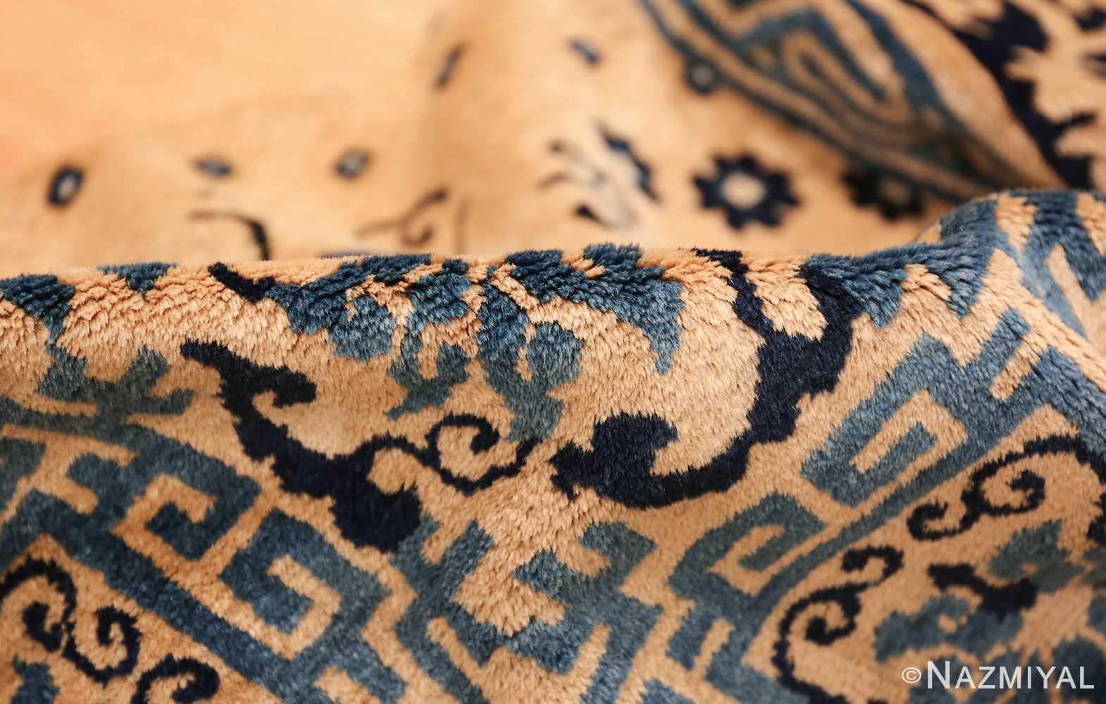 room size antique chinese rug 49542 pile Nazmiyal
