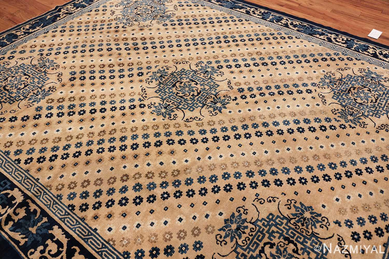 room size antique chinese rug 49542 side Nazmiyal