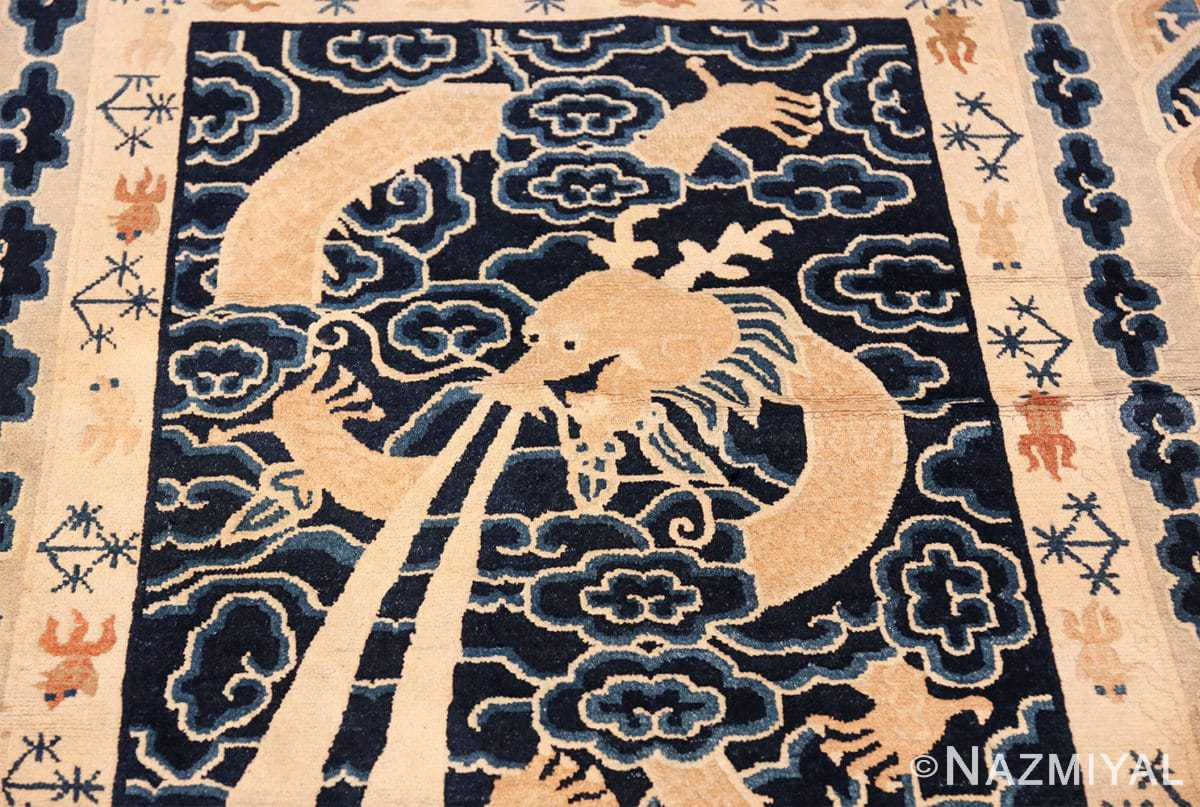 small size antique chinese rug 49581 clouds Nazmiyal