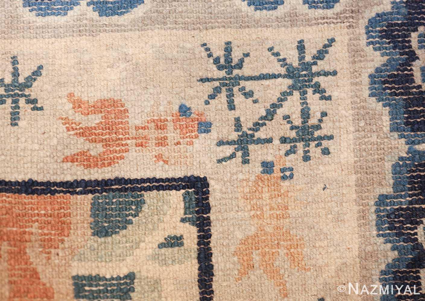 small size antique chinese rug 49581 knots Nazmiyal