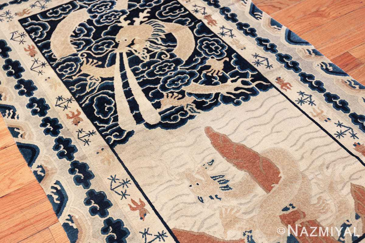 small size antique chinese rug 49581 side Nazmiyal
