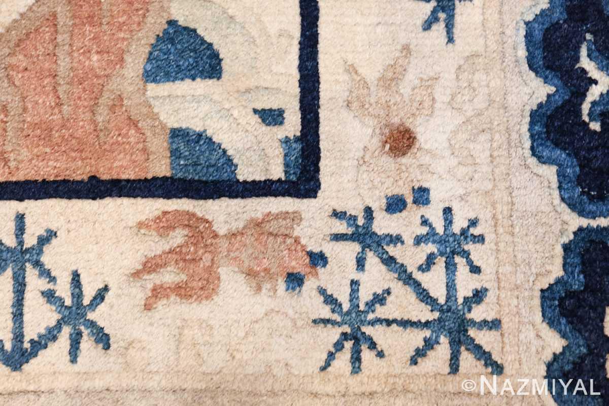 small size antique chinese rug 49581 star Nazmiyal