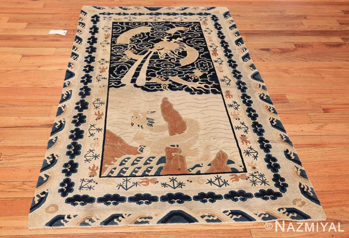 small size antique chinese rug 49581 whole Nazmiyal