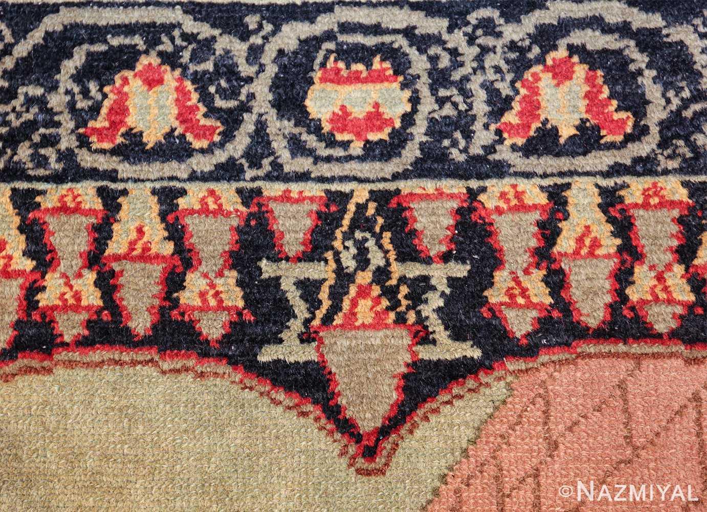 small size antique marbediah israeli rug 49589 star Nazmiyal