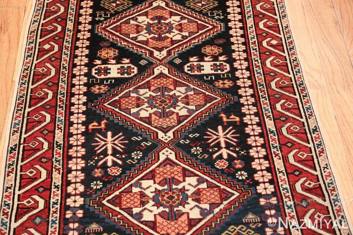 tribal antique shirvan caucasian rug 49580 field Nazmiyal