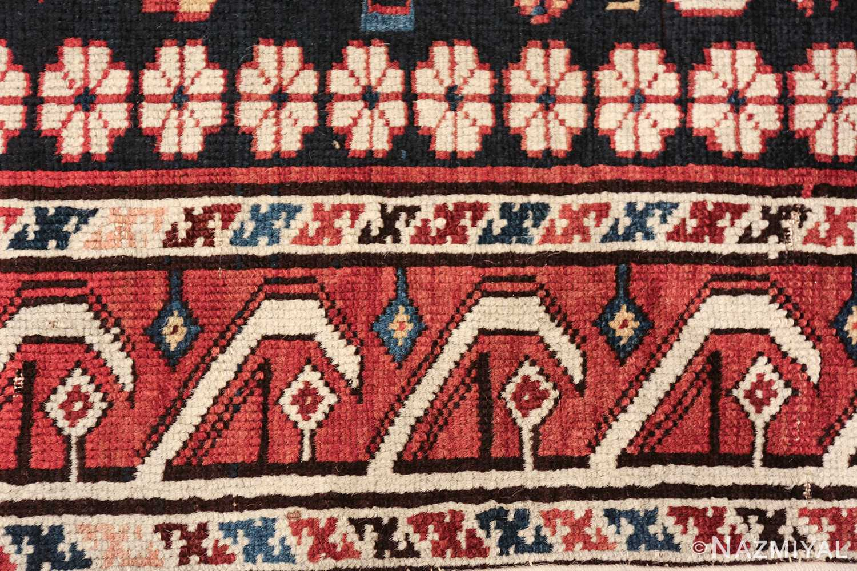 tribal antique shirvan caucasian rug 49580 lines Nazmiyal