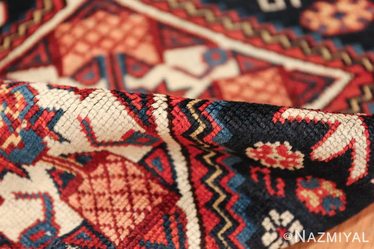 tribal antique shirvan caucasian rug 49580 pile Nazmiyal