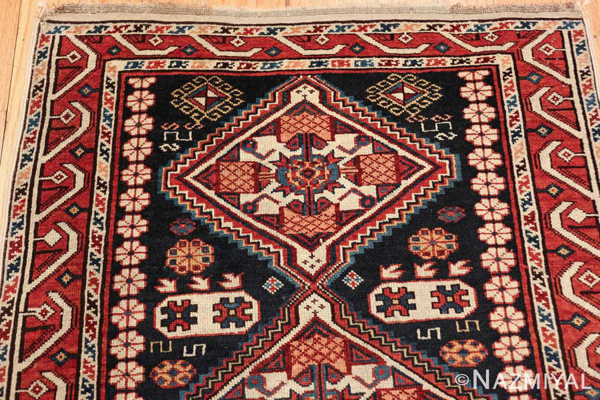 tribal antique shirvan caucasian rug 49580 top Nazmiyal