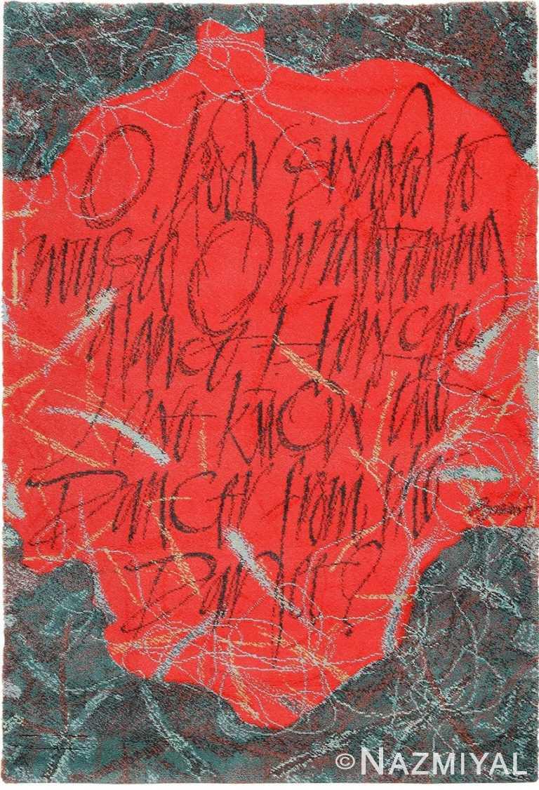 vintage ege art scandinavian rug after denis brown 49566 Nazmiyal
