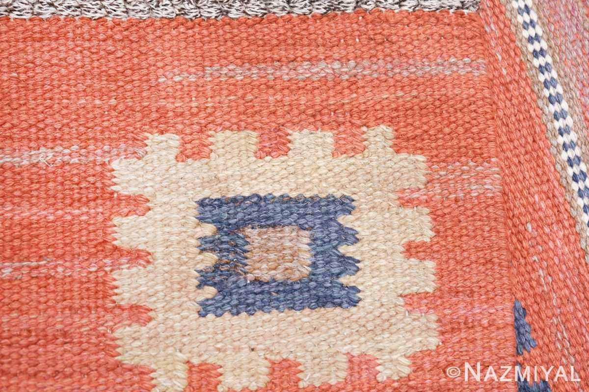 vintage flat woven marta maas scandinavian rug 49568 knots Nazmiyal