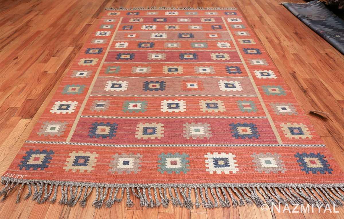 vintage flat woven marta maas scandinavian rug 49568 whole Nazmiyal
