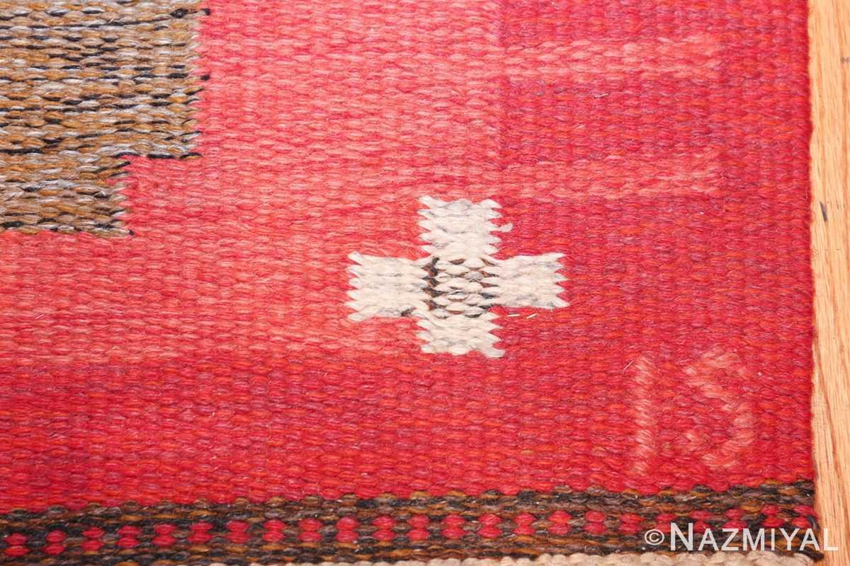 vintage flat woven scandinavian rug by ingegerd silow 49583 is Nazmiyal