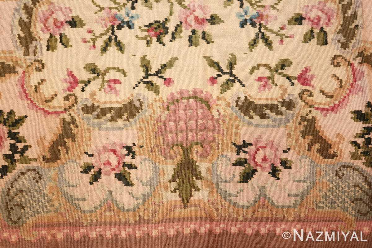 vintage floral romanian bessarabian rug 50379 border Nazmiyal