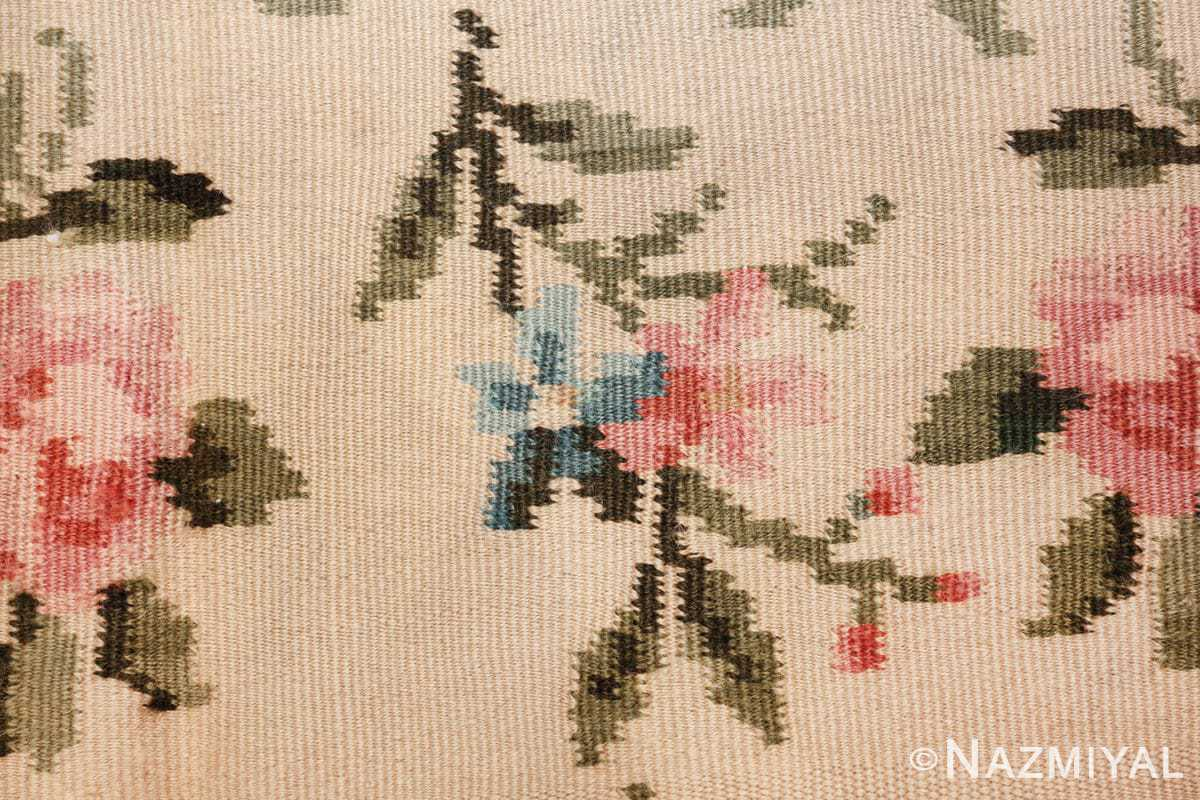 vintage floral romanian bessarabian rug 50379 bunch Nazmiyal