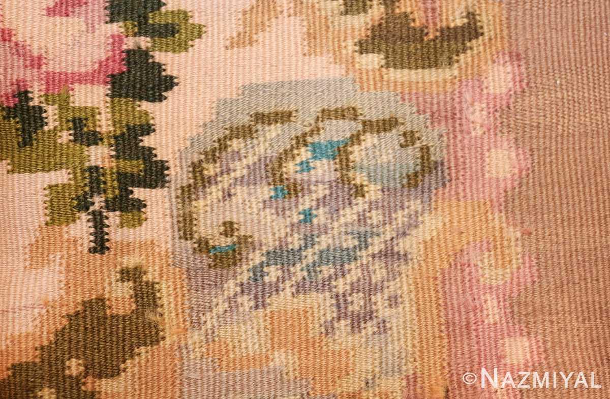 vintage floral romanian bessarabian rug 50379 knots Nazmiyal
